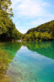 Plitvice Lakes national park in Croatia — Stock Photo
