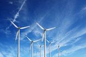 энергия ветра — Стоковое фото