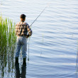 Foto de Stock  : Fishing