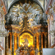 Basilica of Jasna Gora in Czestochowa Poland - Stock Photo