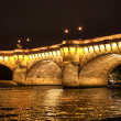 Seine river in Paris — Foto Stock