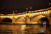 Seine river in Paris — Stock Photo