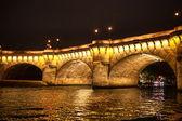 Río sena en parís — Foto de Stock