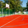 Basketball court - Stock Photo