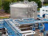 Industrie pétrolière et gazière — Photo