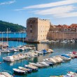 Stock Photo: Dubrovnik harbor