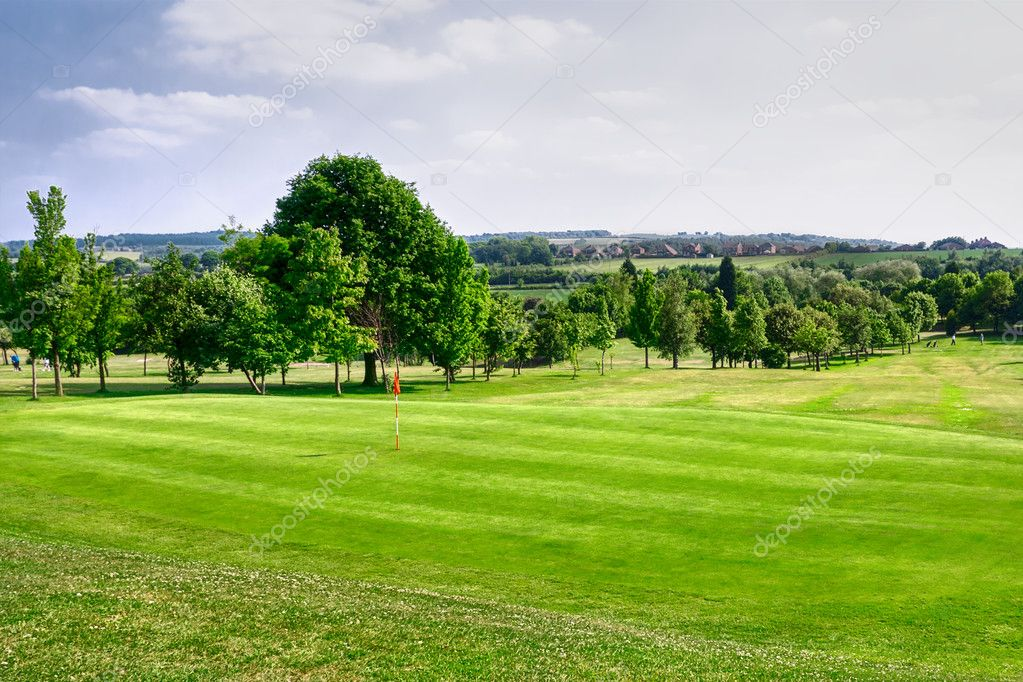 Golf course — Stock Photo #9044866