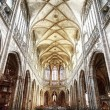 Stock Photo: Interior of St. Vitus Cathedral in Prague
