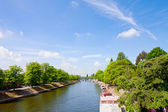 River Ouse in York - UK — Stock Photo