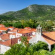 ston small town near dubrovnik — Stock Photo