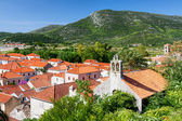 Ston small town near Dubrovnik — Stock Photo