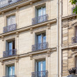 Stock Photo: Parisian architecture
