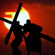 Stations of the Cross — Stock Photo