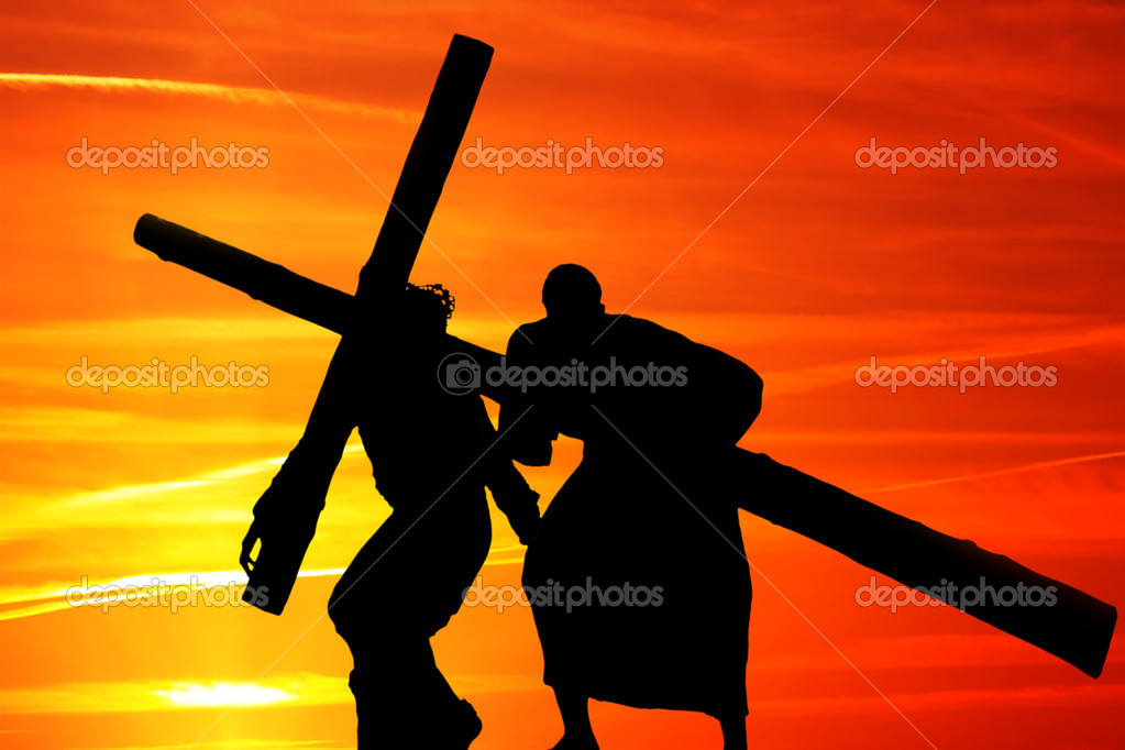 Wooden cross — Stock Photo #9538504