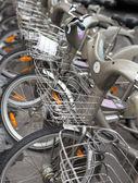 City bikes for rent — Stock Photo