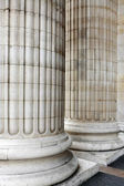 Classic columns background — Stock Photo