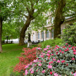Spring park in Paris — Stock Photo