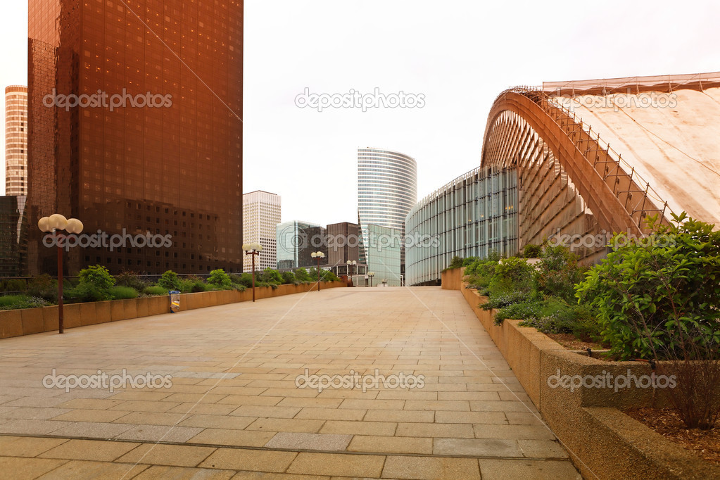 The direction of the business center — Stock Photo #9680373