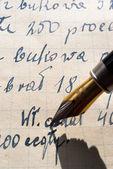 Handwriting — Stock Photo
