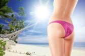 In bikiniin bikiniin bikini — Stock Photo
