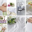 Wedding collage - Stock Photo