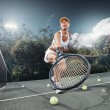 Tennistennis - Stock Photo