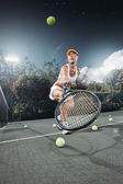 Tennistennis — Stock Photo