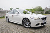 Wedding car - bmw — Stock Photo