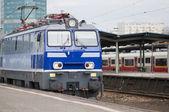 Locomotive, the train — Stock Photo