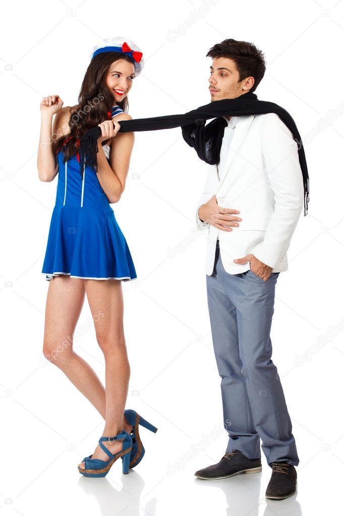 Flirt avec homme