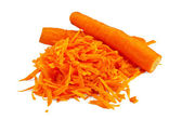 Carrots grated — Stock Photo