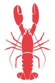 Lobster illustration — Stock Vector
