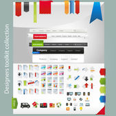Web graphic collection — Stock Vector