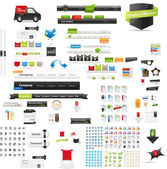 Web graphic collection — Stockvector
