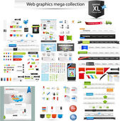 Collection graphique web — Vecteur