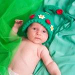 The newborn child — Stock Photo