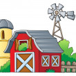 Farm theme image 1 — Stockvectorbeeld