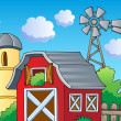 Farm theme image 2 — Stockvectorbeeld
