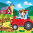 Farm theme image 3 - Stock Vector