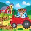 Stock Vector: Farm theme image 3