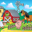 Farm theme image 4 — Vector de stock #10246726
