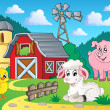 Stock vektor: Farm theme image 5