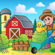 Stock Vector: Farm theme image 7