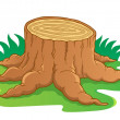 Image with tree root theme 1 — Stock Vector #10246839