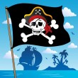 Pirate banner theme 2 — Stock Vector #10632572