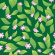 Vector de stock : Flowery seamless background 2