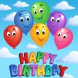 Royalty-Free Stock Vector Image: Happy Birthday topic image 3