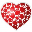 Heart theme image 1 — Stock Vector