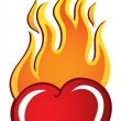Royalty-Free Stock Vector Image: Heart theme image 2