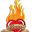Royalty-Free Stock Imagem Vetorial: Heart theme image 3